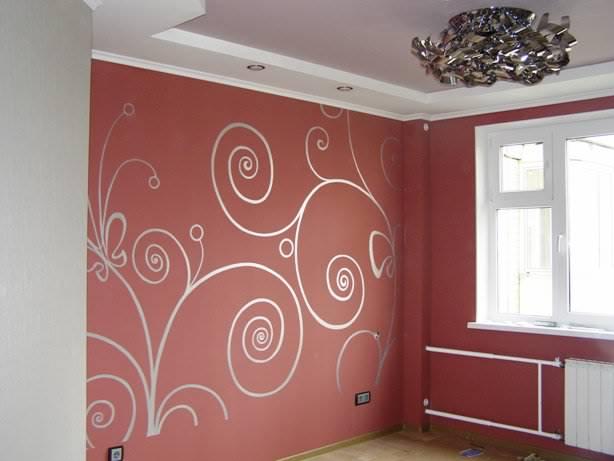 Покрасить стены на кухне своими руками